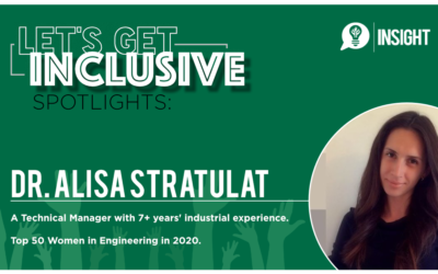 Let's Get Inclusive Spotlights: Alisa Stratulat