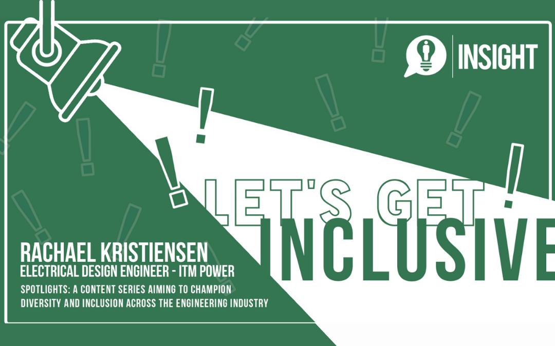 Let's Get Inclusive Spotlights: Rachael Kristiensen